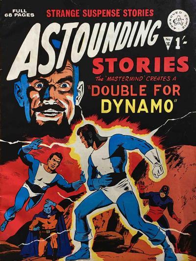Cover for Astounding Stories (Alan Class, 1966 series) #36