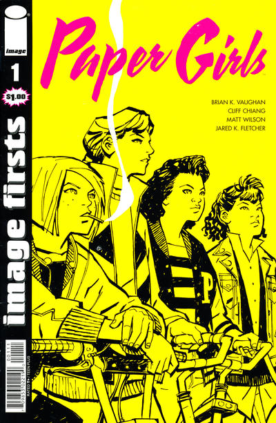 Cover for Image Firsts: Paper Girls (Image, 2016 series) #1