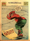 Cover for The Spirit (Register and Tribune Syndicate, 1940 series) #7/1/1945 [Syracuse [NY] Herald American edition]