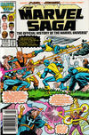 Cover for The Marvel Saga the Official History of the Marvel Universe (Marvel, 1985 series) #16 [Newsstand]