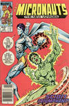 Cover for Micronauts (Marvel, 1984 series) #14 [Newsstand]