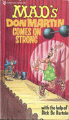 Cover for MAD's Don Martin Comes On Strong (New American Library, 1971 series) #Q6386