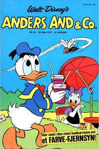 Cover Thumbnail for Anders And & Co. (Egmont, 1949 series) #22/1972
