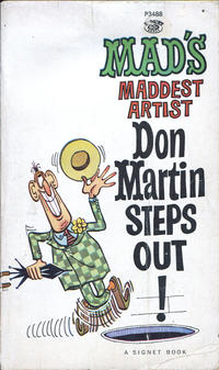 Cover Thumbnail for Don Martin Steps Out! (New American Library, 1962 series) #P3488