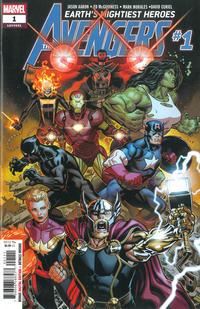 Cover Thumbnail for Avengers (Marvel, 2018 series) #1 (691) [Ed McGuinness]