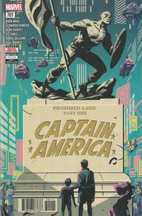 Cover Thumbnail for Captain America (Marvel, 2017 series) #701 [Michael Cho]