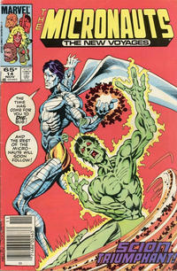 Cover Thumbnail for Micronauts (Marvel, 1984 series) #14 [Newsstand]