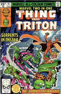 Cover Thumbnail for Marvel Two-in-One (Marvel, 1974 series) #65 [British]