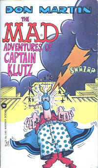 Cover Thumbnail for The Mad Adventures of Captain Klutz (Warner Books, 1974 series) #86-180