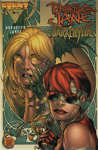 Cover Thumbnail for Painkiller Jane / Darkchylde (Event Comics, 1998 series) #1 [Dynamic Forces Exclusive Alternate Cover]