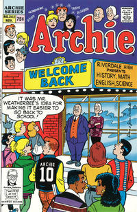 Cover Thumbnail for Archie (Archie, 1959 series) #362 [Direct]
