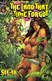 Cover Thumbnail for Edgar Rice Burroughs' The Land That Time Forgot: See-Ta the Savage (American Mythology Productions, 2018 series) #2 [Main Cover]