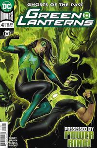 Cover Thumbnail for Green Lanterns (DC, 2016 series) #47 [Stjepan Šejić Cover]