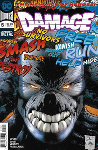 Cover for Damage (DC, 2018 series) #5