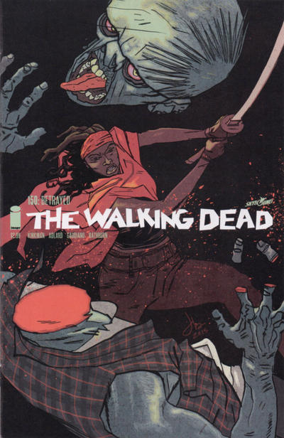 Cover for The Walking Dead (Image, 2003 series) #150 [Cover B - Blank]
