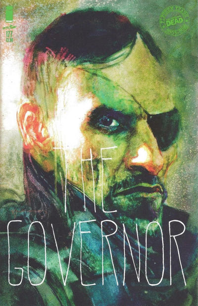 Cover for The Walking Dead (Image, 2003 series) #177 [15th Anniversary Bill Sienkiewicz]