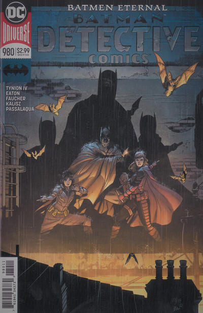 Cover for Detective Comics (DC, 2011 series) #980