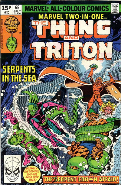Cover for Marvel Two-in-One (Marvel, 1974 series) #65 [Direct]