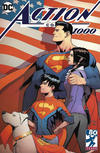 Cover Thumbnail for Action Comics (2011 series) #1000 [Newbury Comics Exclusive Patrick Gleason Color Cover]