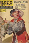 Cover for Classics Illustrated (Gilberton, 1947 series) #29 - The Prince and the Pauper [HRN 167 - Painted Cover]