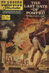 Cover for Classics Illustrated (Gilberton, 1947 series) #35 [HRN 161] - The Last Days of Pompeii [HRN 167]