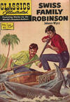 Cover for Classics Illustrated (Gilberton, 1947 series) #42 - Swiss Family Robinson [HRN 167]