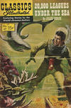 Cover for Classics Illustrated (Gilberton, 1947 series) #47 [HRN 167] - Twenty Thousand Leagues Under the Sea [Painted Cover]