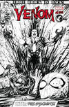 Cover Thumbnail for Venom (2017 series) #6 [Unknown Comics Exclusive Tyler Kirkham Black and White]