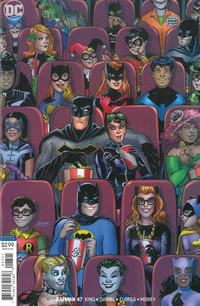 Cover for Batman (DC, 2016 series) #47