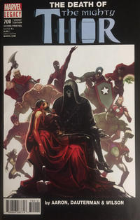 Cover Thumbnail for Mighty Thor (Marvel, 2016 series) #700 [Second Printing Stephanie Hans Cover]