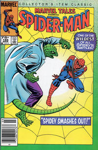 Cover Thumbnail for Marvel Tales (Marvel, 1966 series) #185 [Newsstand]