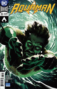 Cover Thumbnail for Aquaman (DC, 2016 series) #35 [Joshua Middleton Variant Cover]