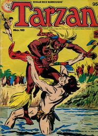 Cover Thumbnail for Edgar Rice Burroughs' Tarzan (K. G. Murray, 1980 series) #10