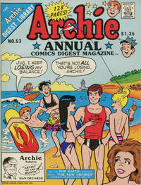 Cover Thumbnail for Archie Annual Digest (Archie, 1975 series) #53 [Direct]
