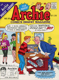 Cover Thumbnail for Archie Comics Digest (Archie, 1973 series) #95 [Direct]