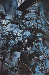 Cover Thumbnail for Venom (Marvel, 2017 series) #150 [Unknown Comics & Games Exclusive - Clayton Crain Virgin Art]