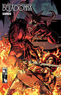 Cover Thumbnail for Belladonna: Fire and Fury (Avatar Press, 2017 series) #6 [Demonic Nude Cover]