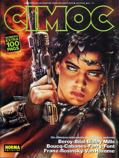 Cover for Cimoc (NORMA Editorial, 1981 series) #111