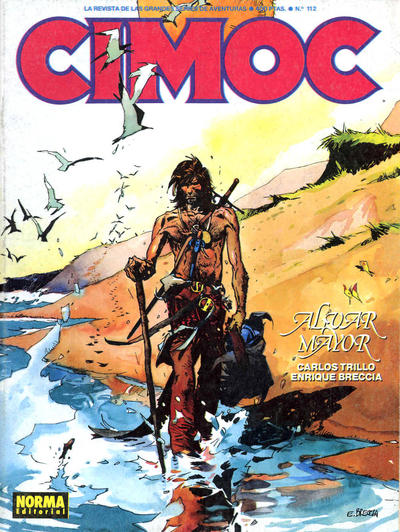 Cover for Cimoc (NORMA Editorial, 1981 series) #112