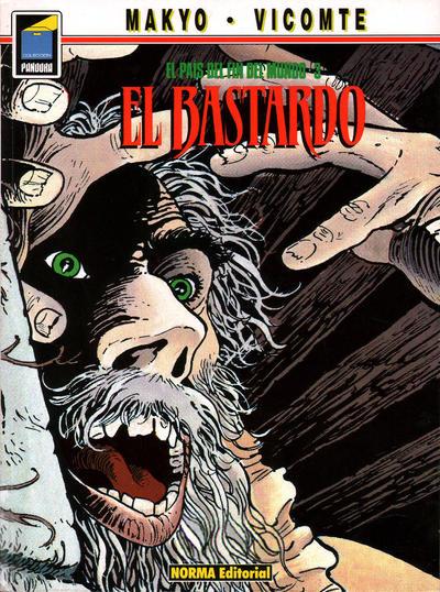 Cover for Pandora (NORMA Editorial, 1989 series) #16 - El país del fin del mundo 3. El bastardo