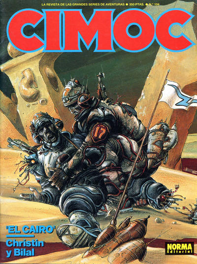 Cover for Cimoc (NORMA Editorial, 1981 series) #104