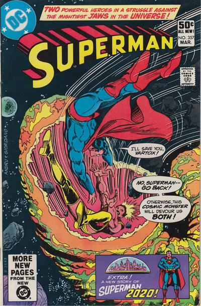 Cover for Superman (DC, 1939 series) #357 [Direct]