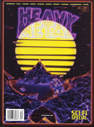 Cover for Heavy Metal Magazine (Heavy Metal, 1977 series) #289 - Sci-Fi Special [Cover A Jonathan La Mantia]