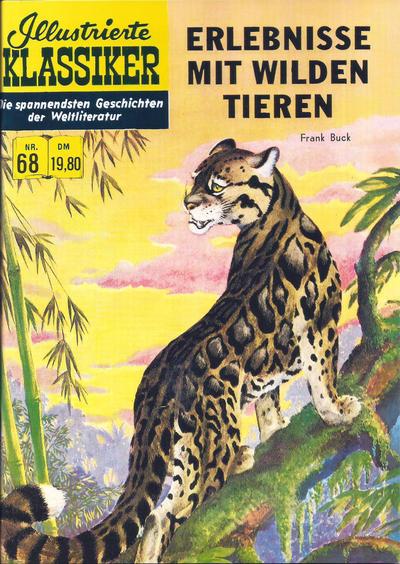 Cover for Illustrierte Klassiker [Classics Illustrated] (Norbert Hethke Verlag, 1991 series) #68 - Erlebnisse mit wilden Tieren