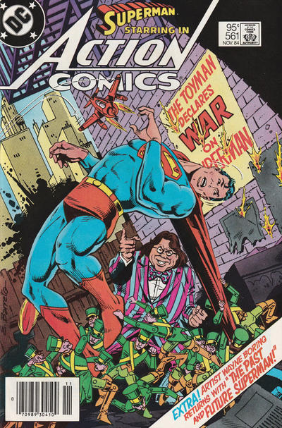 Cover for Action Comics (DC, 1938 series) #561 [Direct]