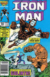 Cover for Iron Man (Marvel, 1968 series) #206 [Canadian Newsstand]