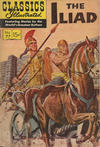 Cover for Classics Illustrated (Gilberton, 1947 series) #77 - Iliad [HRN 165 Painted Cover]
