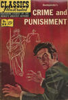 Cover for Classics Illustrated (Gilberton, 1947 series) #89 [O] - Crime and Punishment [HRN 167]