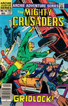 Cover for The Mighty Crusaders (Archie, 1983 series) #10 [Newsstand]