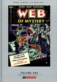 Cover Thumbnail for Pre-Code Classics: Web of Mystery (PS, 2018 series) #1